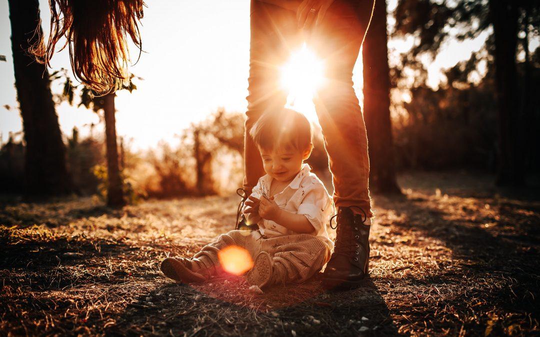 Rodinný kRok: Rodinné šťastie na zeleno. Alebo: Keď príroda pomáha.