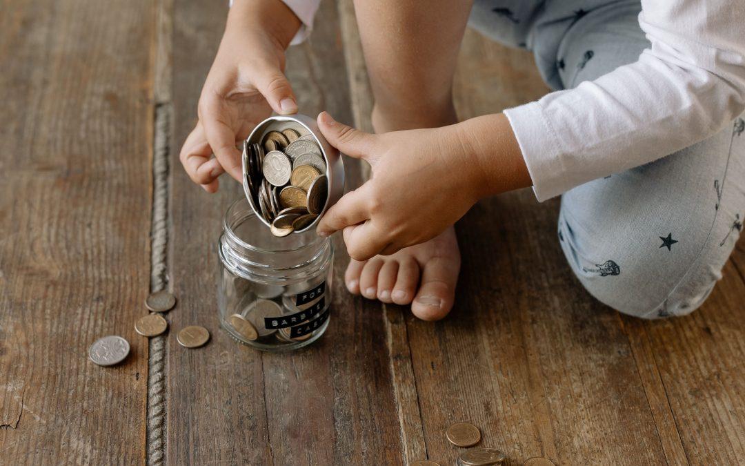 Rodinný kRok: O troch grošoch alebo ako učiť deti finančnej gramotnosti
